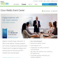 Cisco WebEx Event Center image